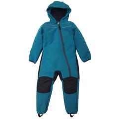 Jungen Baby Softshell Overall gefüttert wasserdicht 10.000 mm Wassersäule winddicht atmungsaktiv Schneeanzug, türkis - 3712737