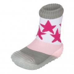"Mädchen Kinder Anti-Rutsch-Socken Adventure-Socks-Kombination ""Stern"", rosa - 8361910"