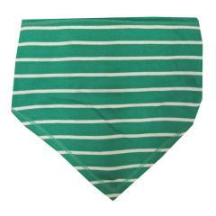 Dreieckstuch gestreift Jungen Baby, grün