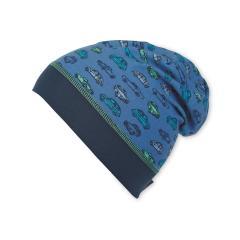 Beanie Mütze Jungen Autos, blau - 1621835