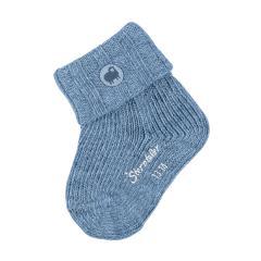 Baby Jungen Wollsocken Erstlingssöckchen, blau - 8501910