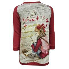 Mädchen Pullover, rot