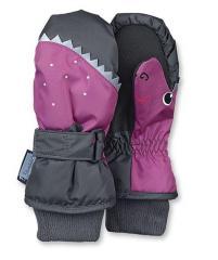 Mädchen Fäustlinge Fausthandschuh Thermo-Handschuh Haifisch, pink- 4321603