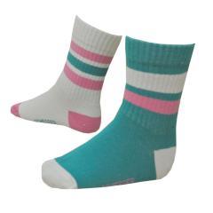 Socken Mädchen 2er-Pack, 3-farbig
