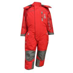 Mädchen Schneeoverall Overall 10.000 mm Wassersäule, rot