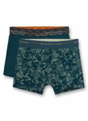 Jungen Hip-Shorts Doppelpack, dunkelblau - 346888