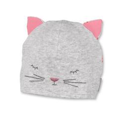 Mütze Mädchen Katze, rot - 1411870