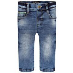 Jungen Jeans Hose Thermohose, jeansblau - 2555