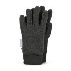 Jungen Handschuhe Fingerhandschuh Fleece, anthrazit - 4331410-anthr