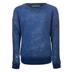 Mädchen Langarmshirt transparent Blue Rebel, blau - 7246009