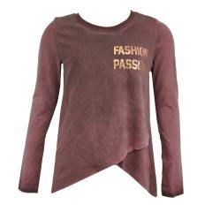 Mädchen Langarmshirt Fashion Passion, rot - 1172-5962
