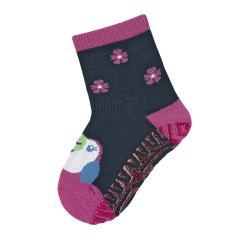 "Mädchen Anti-Rutsch-Socken Glitzer Fliesen Flitzer Sun ""Kakadu"", marineblau - 8022012"