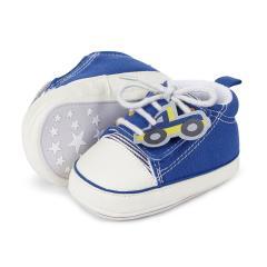 "Baby Schuhe Jungen Krabbelschuhe ""Auto"", blau - 2301821"