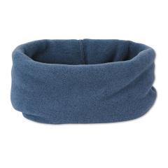 Kinder Baby Jungen Winter Allrounder Loop Halstuch Schal aus Microfleece einfarbig, tintenblau - 4531450