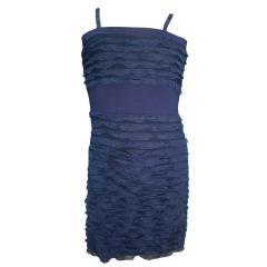 Festkleid Mädchenkleid Mädchen Kleid, dunkelblau