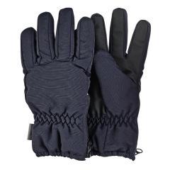 Jungen Fingerhandschuhe gefüttert mit Isolierung und Microfleecefutter, seitlicher Reißverschluss, wasserdicht, atmungsaktiv, marineblau – 4322010