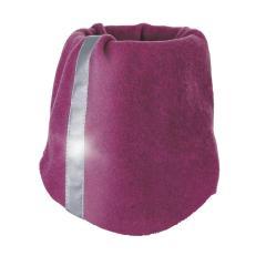 Mädchen Baby Schlauchschal Schlupfschal Loop Halstuch Fleece mit Reflektor, magenta melange - 4221850-magen