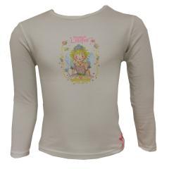 Prinzessin Lillifee Mädchen T-Shirt Langarm, weiß