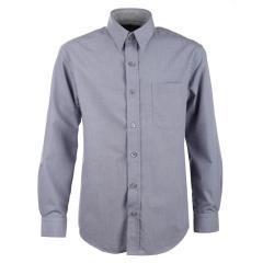 Jungen festliches Hemd langarm, grau - 5511900grau