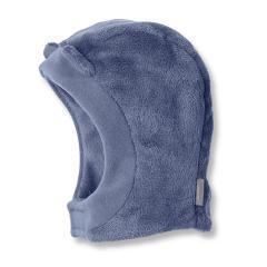 Jungen Schalmütze Wintermütze Fleece, Klettverschluss, blau - 4501421