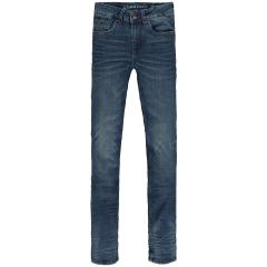 Jungen Hose Jeans mit verstellbaren Bund Xandro Superslim Fit 320-2912 Flow Denim Dark used