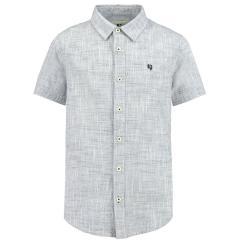 Jungen Hemd, Kurzarmhemd, grau - C934430