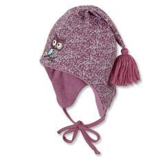 Kids Mädchen Mütze zum binden, pink - 4401642