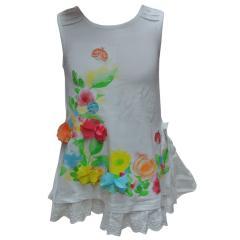 Baby Mädchenkleid Kleid Festkleid Taufe, weiß