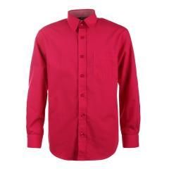 Jungen Festliches Langarmhemd, pink