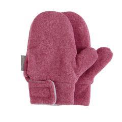 Mädchen Fäustlinge Handschuhe Fleece mit Klettverschluss, beere mel. – 4301420