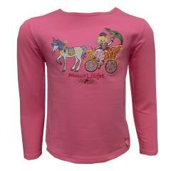 Prinzessin Lillifee Mädchen T-Shirt Langarm, pink