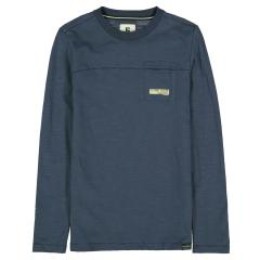 Jungen Sommer langarm T-Shirt dunkelblau-A13400_boys T-shirt