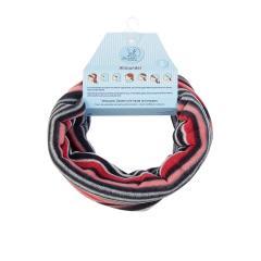 Mädchen Loop Schal Streifen, rot- 4221721r