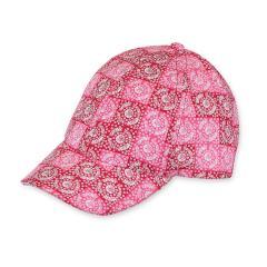 Mädchen Schirmmütze Cappi gemustert, rot - 1421801