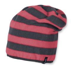 Mädchen Wintermütze Fleece Slouch-Beanie, rot
