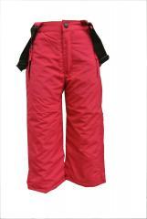 Outburst Mädchen Skihose Latzhose Schneehose Wasserdicht 1.500 mm Wassersäule, pink - 3809714