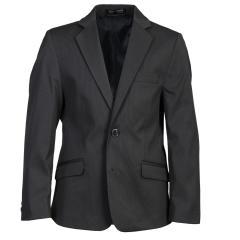 G.O.L- Blazer Jungen festliche Jacke Jacket gemusterter Stoff- Grau- 3539005