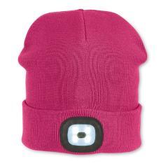 """Mädchen Mütze """"Starlight"""" Strickmütze mit 2 LED - Lampen, pink - 4721829"""