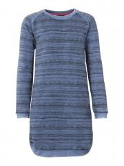 Teens Mädchen Langarm Kleid, blau - G-FW16-DRS039