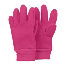 Mädchen Handschuhe Fingerhandschuh Fleece mit Stulpe, wasserabweisendes Material, magenta - 4321813