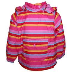 Regenjacke Übergangsjacke Mädchen Jacke Baby, gestreift