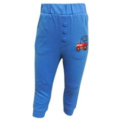Jogginghose Baby Jungen Traktor, blau - 73217127