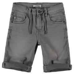 """Jungen Jeansshorts Sommerhose kurz 5-Pocket-Jeans """"Bund mit Bändern"""" , grau - GS130308_Lazlo boys"""
