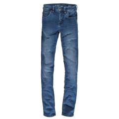 Jungen Garcia Jeans 350 Lazlo regular fit Baumwolljeans Hose mit verstellbarem Bund, dark used dunkelblau Flow Denim – 5168