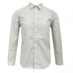 Jungen Langarmhemd gemustert Garcia, off-white - B73631