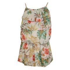 festliches Sommerkleid Mädchen Blumen, mehrfarbig