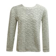 Sweater Pullover Mädchen meliert, natur