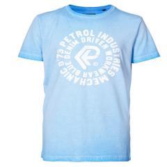 Jungen T-Shirt, Kurzarmshirt, Petrol Ind., blau - TSR670