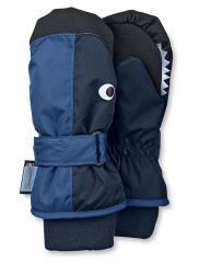 Jungen Fäustlinge Fausthandschuh Thermo-Handschuh Fisch, blau - 4321604