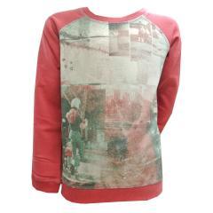 Sweater Pullover Mädchen, fuchsia